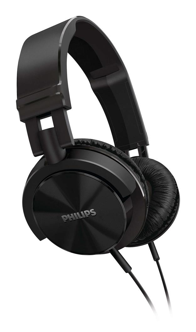 PHILIPS SHL-3000 OVER-EAR HEADPHONES (BLACK)