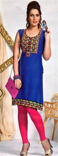 SYNTHETIC KURTI