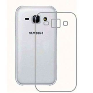 SOFT SILICON BACK COVER FOR TRANSPARENT FOR SAMSUNG J7