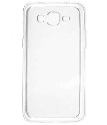 SOFT SILICON BACK COVER FOR TRANSPARENT FOR SAMSUNG J5