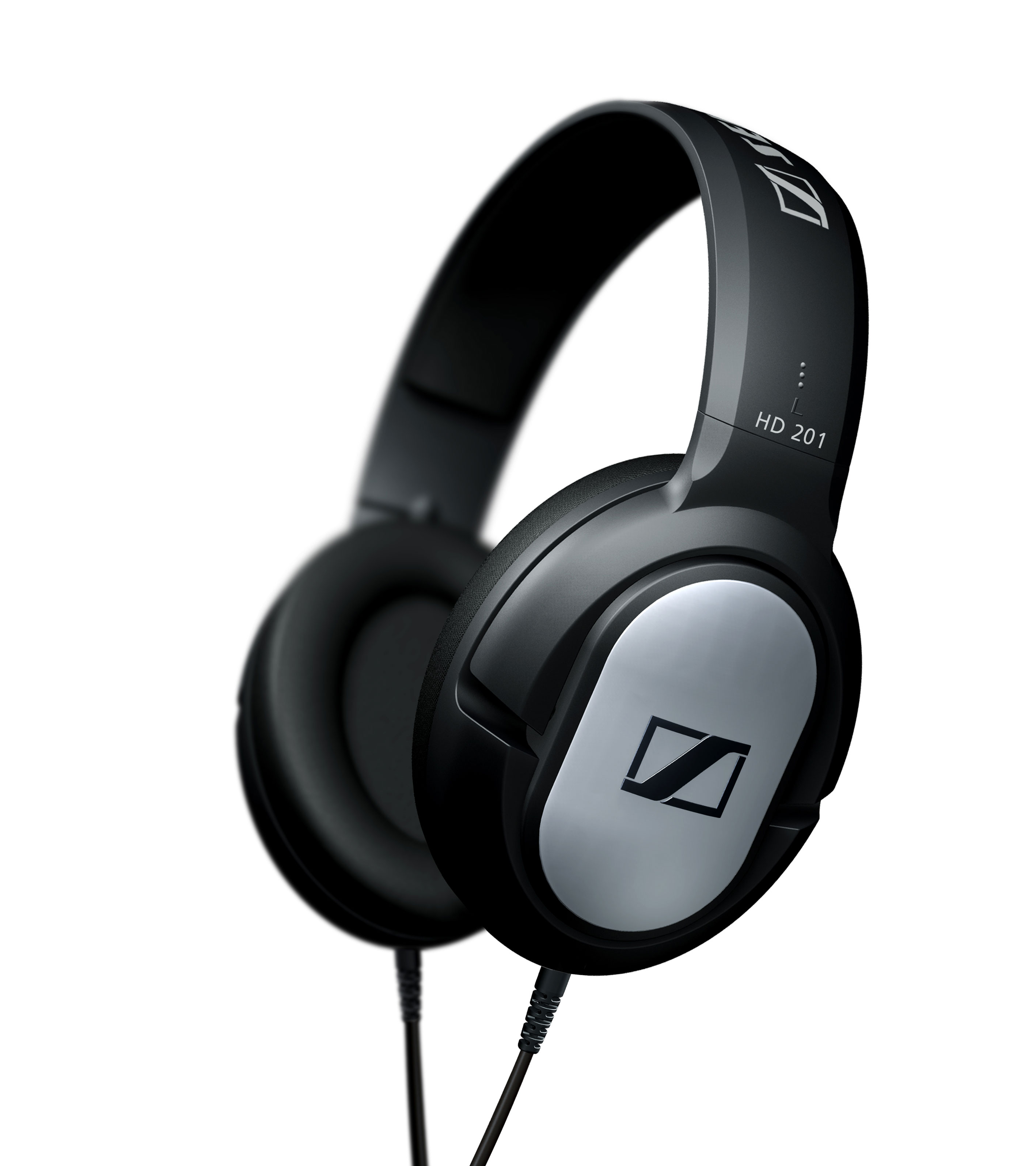 SENNHEISER HD-201 OVER-EAR HEADPHONES (BLACK)