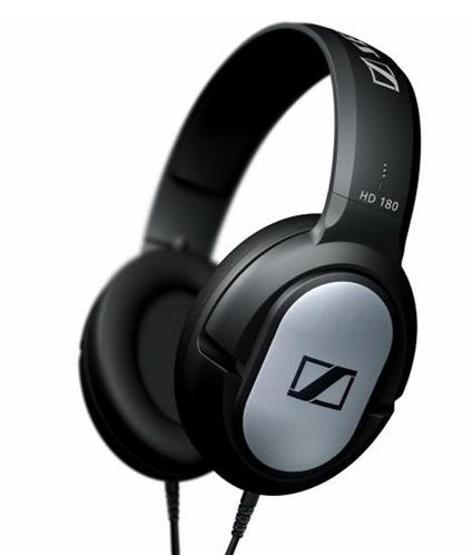 SENNHEISER HD-180 OVER-EAR HEADSET (BLACK)