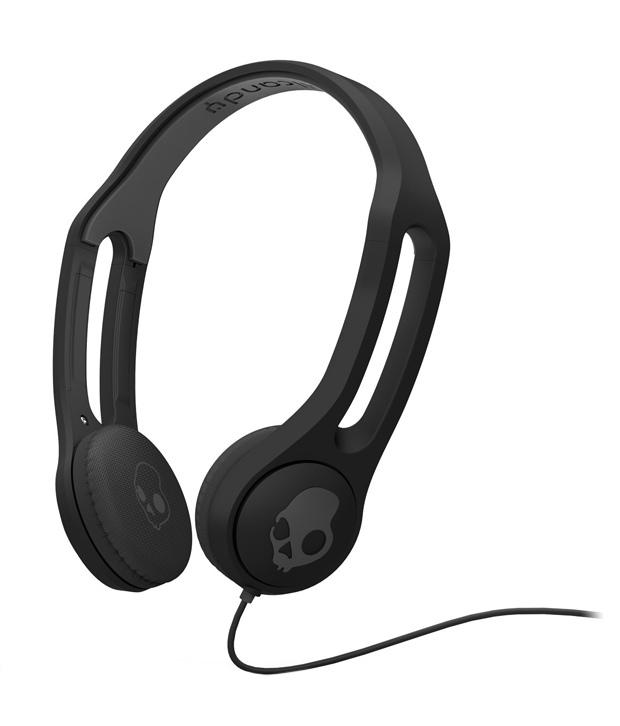 SKULLCANDY S5IHFY-003 ON-EAR HEADPHONES (BLACK)