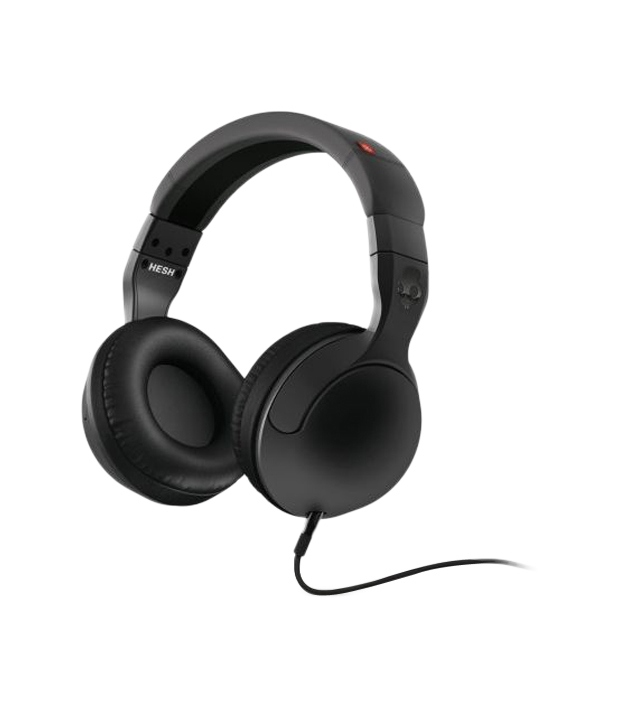 SKULLCANDY S6HSDY-120 OVER-EAR HEADPHONES (BLACK)