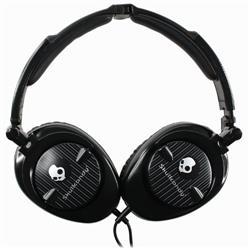 SKULLCANDY S6SKFZ-003 OVER-EAR HEADPHONES (BLACK)