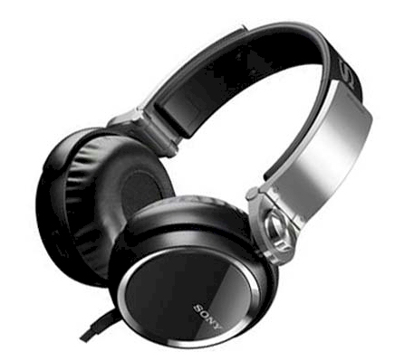 SONY MDR-XB400 ON-EAR HEADPHONES (BLACK)