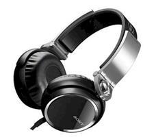 SONY MDR-XB400 ON-EAR HEADPHONES (BLACK)