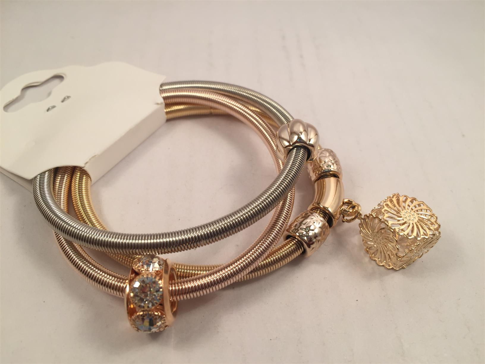 Gold and silver paired toned  Beautiful bracelet