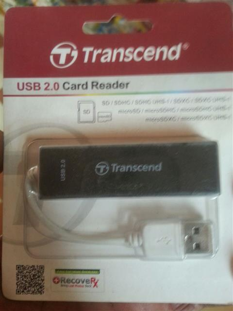 NEW TRANSCAND HIGH SPEED USB 2.0 CARD READER ALL IN ONE CARD